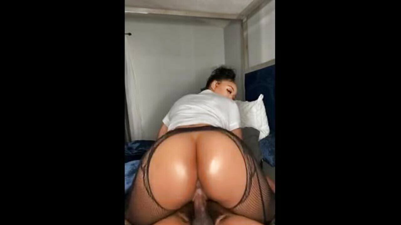 Beautiful Big Ass MILF Sucks And Rides Black Dick