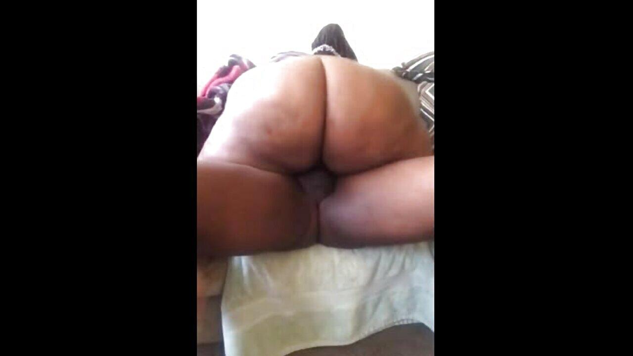 Mzansi Big Black Booty Milf Rides Dick