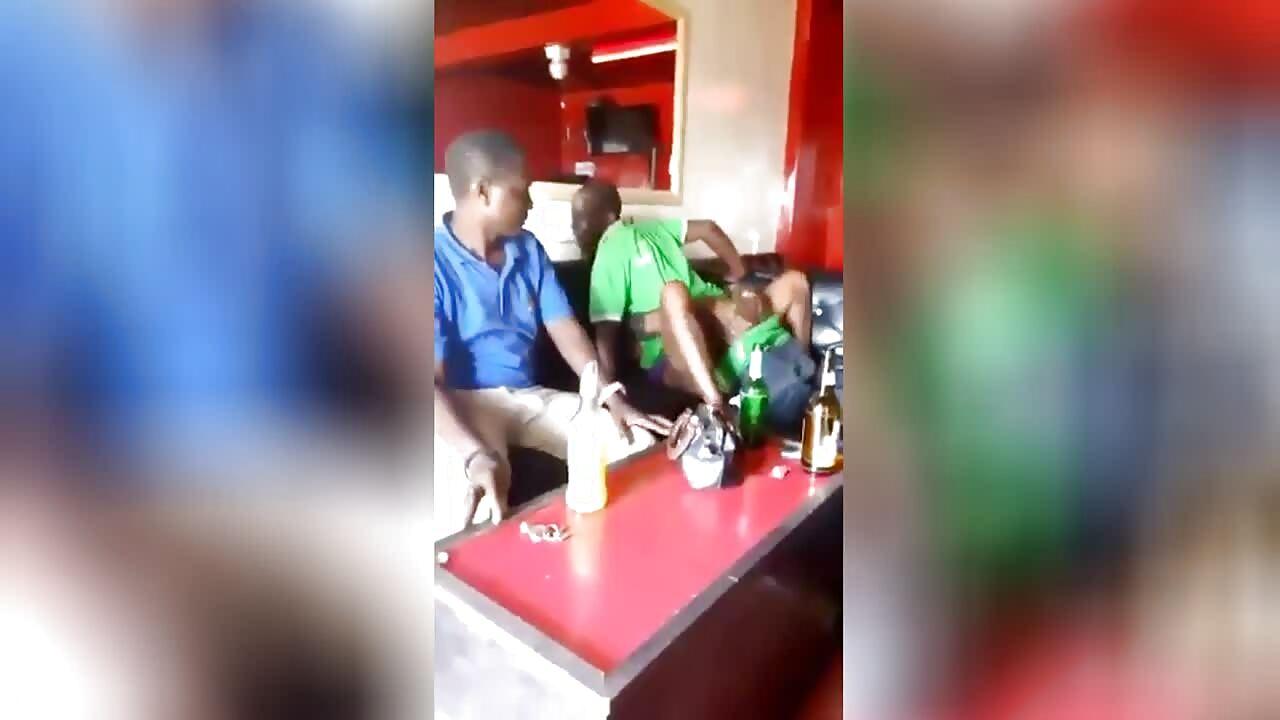 Fucking Mzansi Magosha In A Tavern