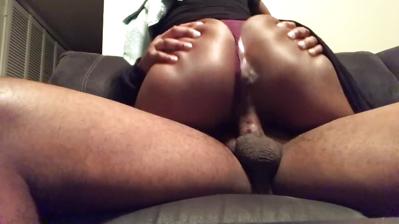 South African Teen Pulls Panties Aside And Rides Dick