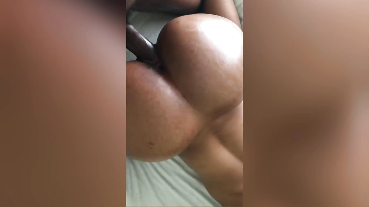 Thick Coloured Slut Throws Creamy Pussy On Hard Dick