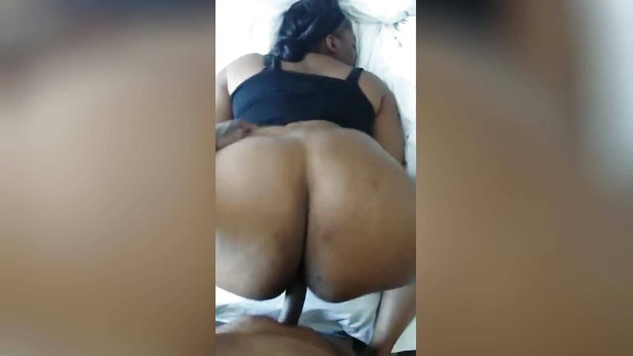 Big Ass African BBW Takes Backshots