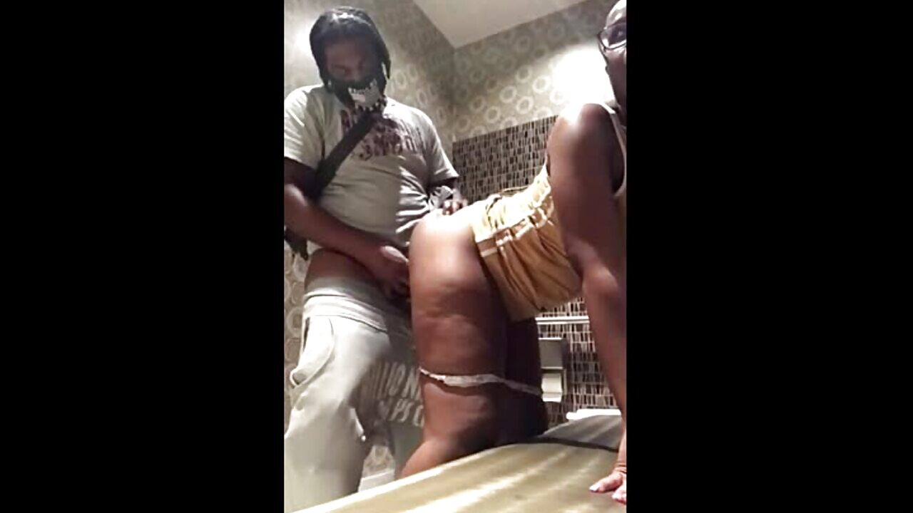 Black Booty Ass Fucked In The Bathroom
