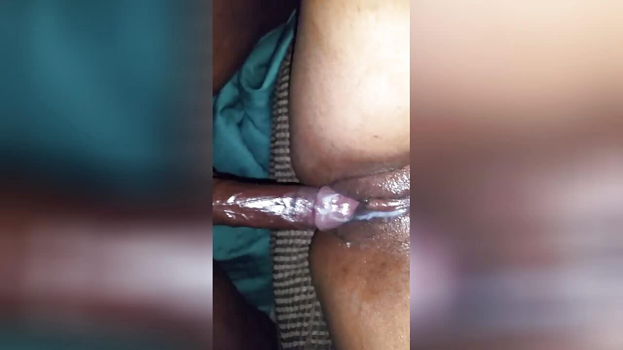 Mzansi BBW With Creamy Pussy Enjoys Anal Fuck