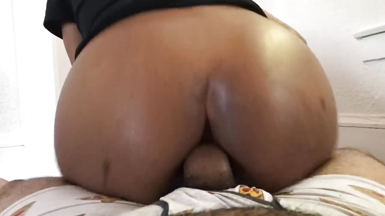 African Booty Anal Fuck