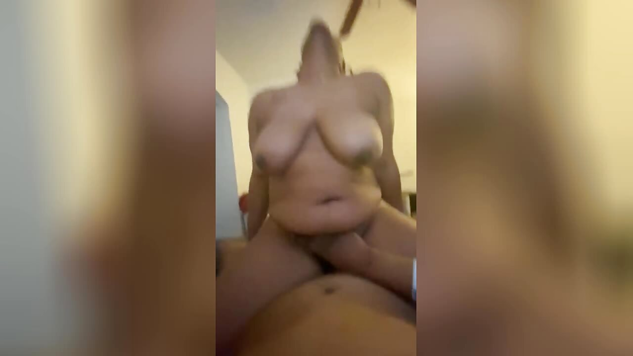 Coloured Milf Rides Dick And Squirts