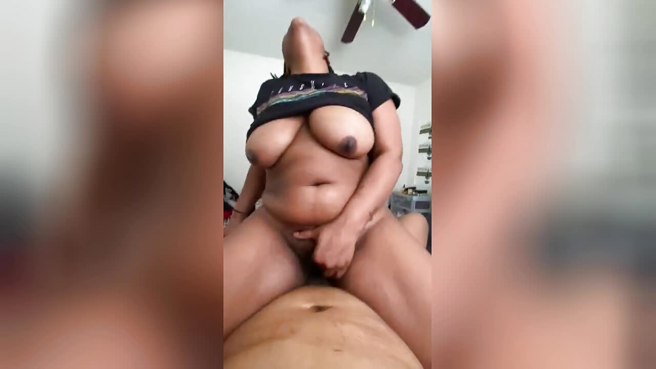 Big Tits Ebony Milf Riding Dick And Orgasm
