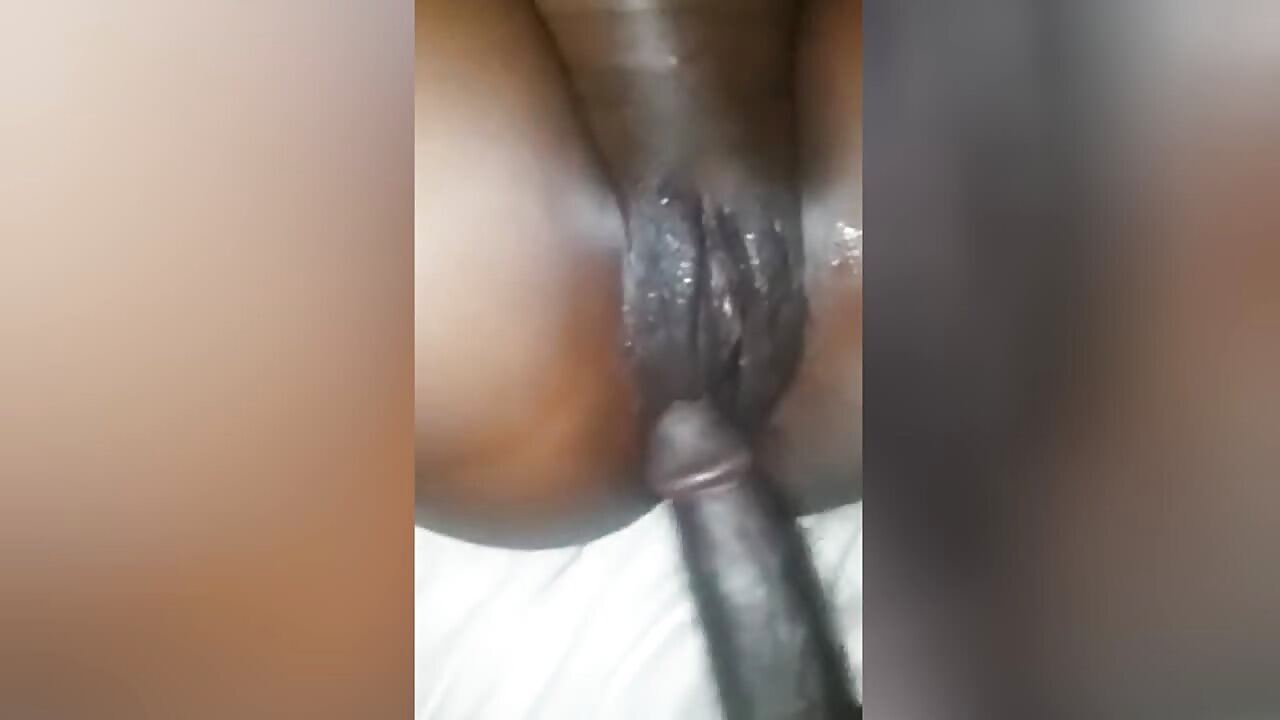 Black African Pussy Creampie