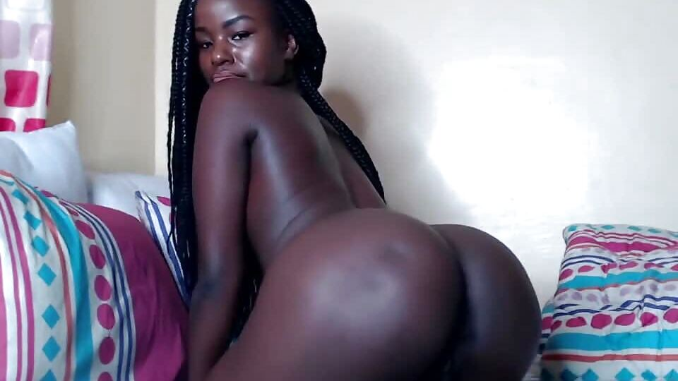Sexy Dark African Teen Solo