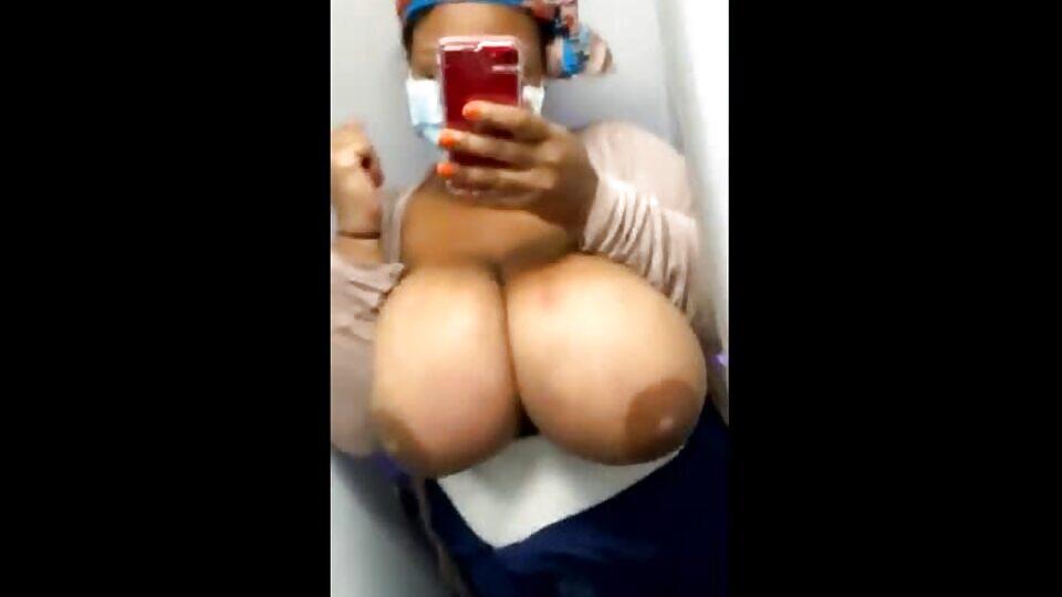 South African Big Black Tits