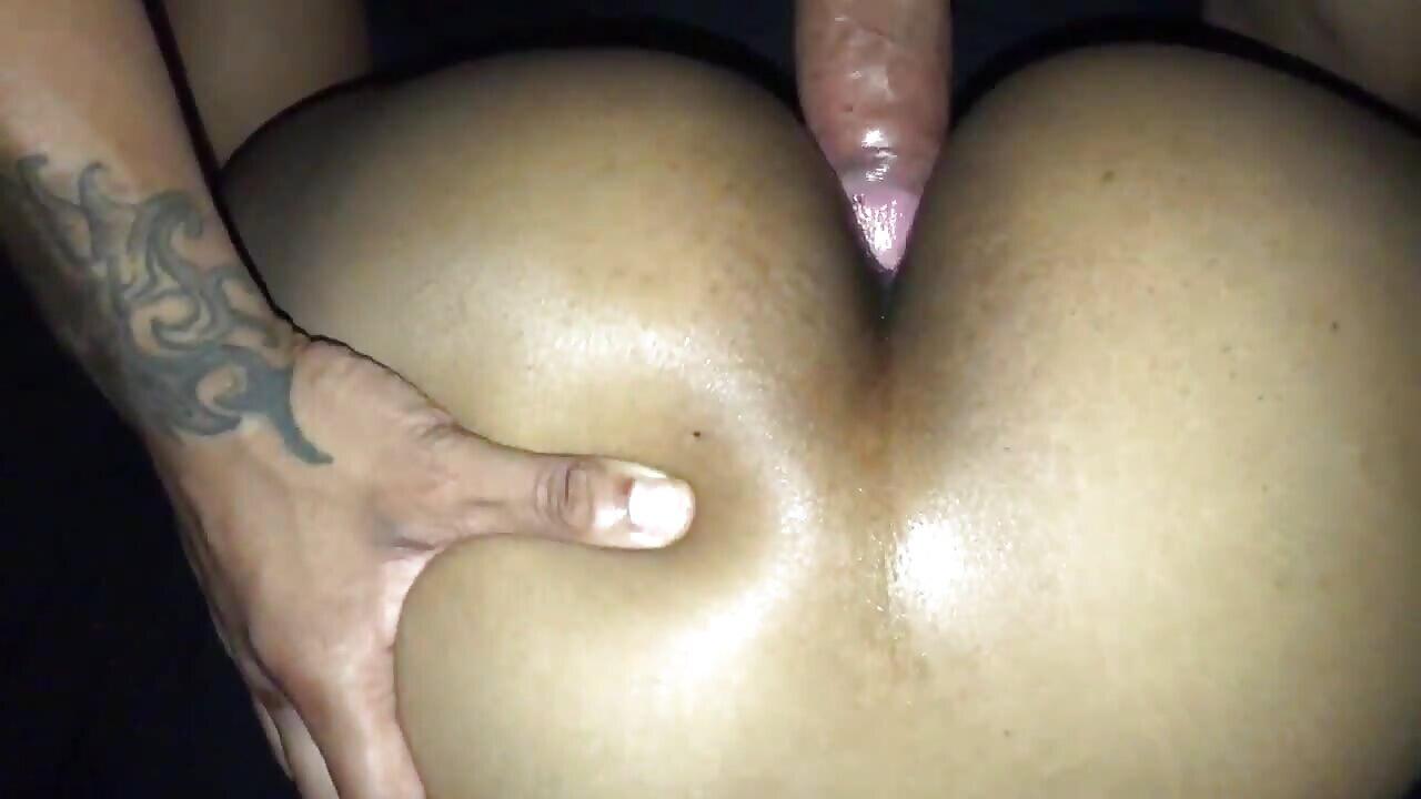Sexy Big Black Ass Anal Fucked