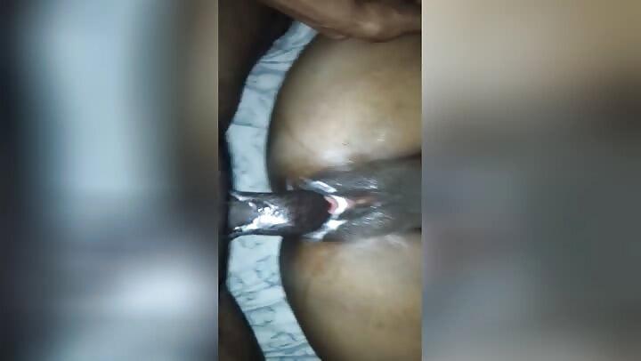Super Wet African Black Pussy Creampie